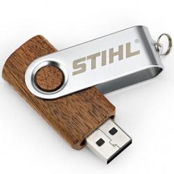 USB flash disk ve dřevě, 16 GB