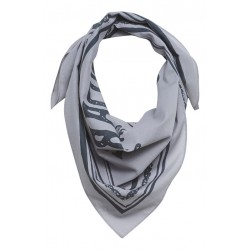 Šátek šedý
