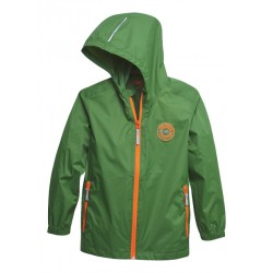 Dětská nepromokavá bunda zelená