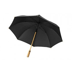 Deštník s bambusovou rukojetí