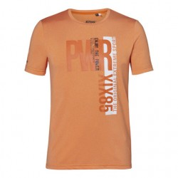 """Funkční tričko oranžové """"PWR"""""""